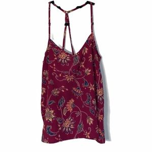 HOLLISTER FLORAL TANK TOP SIZE SMALL
